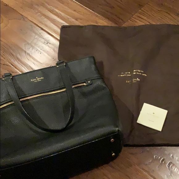 kate spade Handbags - Kate Spade ♠️ Black Pebble Leather Purse